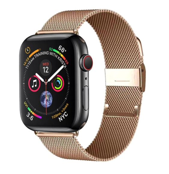 Apple Apple Watch Series 6 5 4 Band, Women Magnetic Milanese Loop Watchband