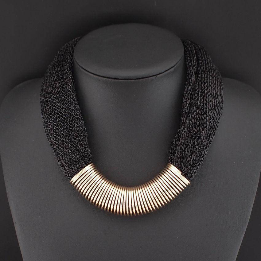 necklace Collar Rope Choker Statement Necklace