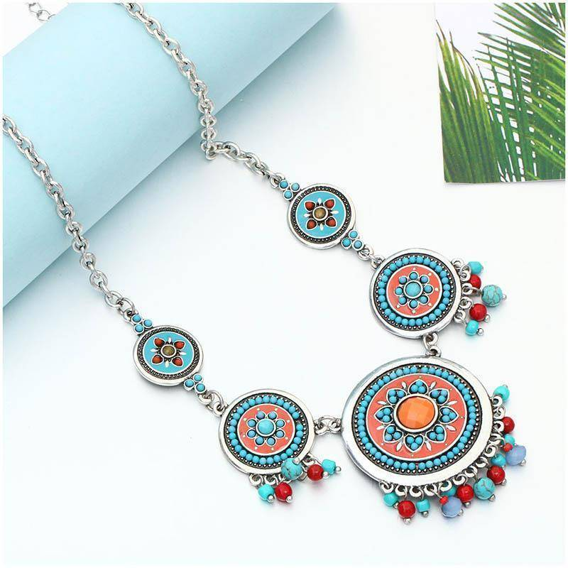 necklace Ethnic Enamel Statement Necklaces
