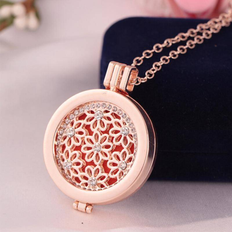 Necklaces 12 Styles, Aromatherapy Diffuser Pendant Necklace