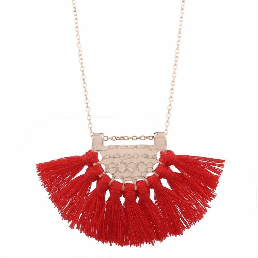 necklaces Long Tassel Bohemian Necklace