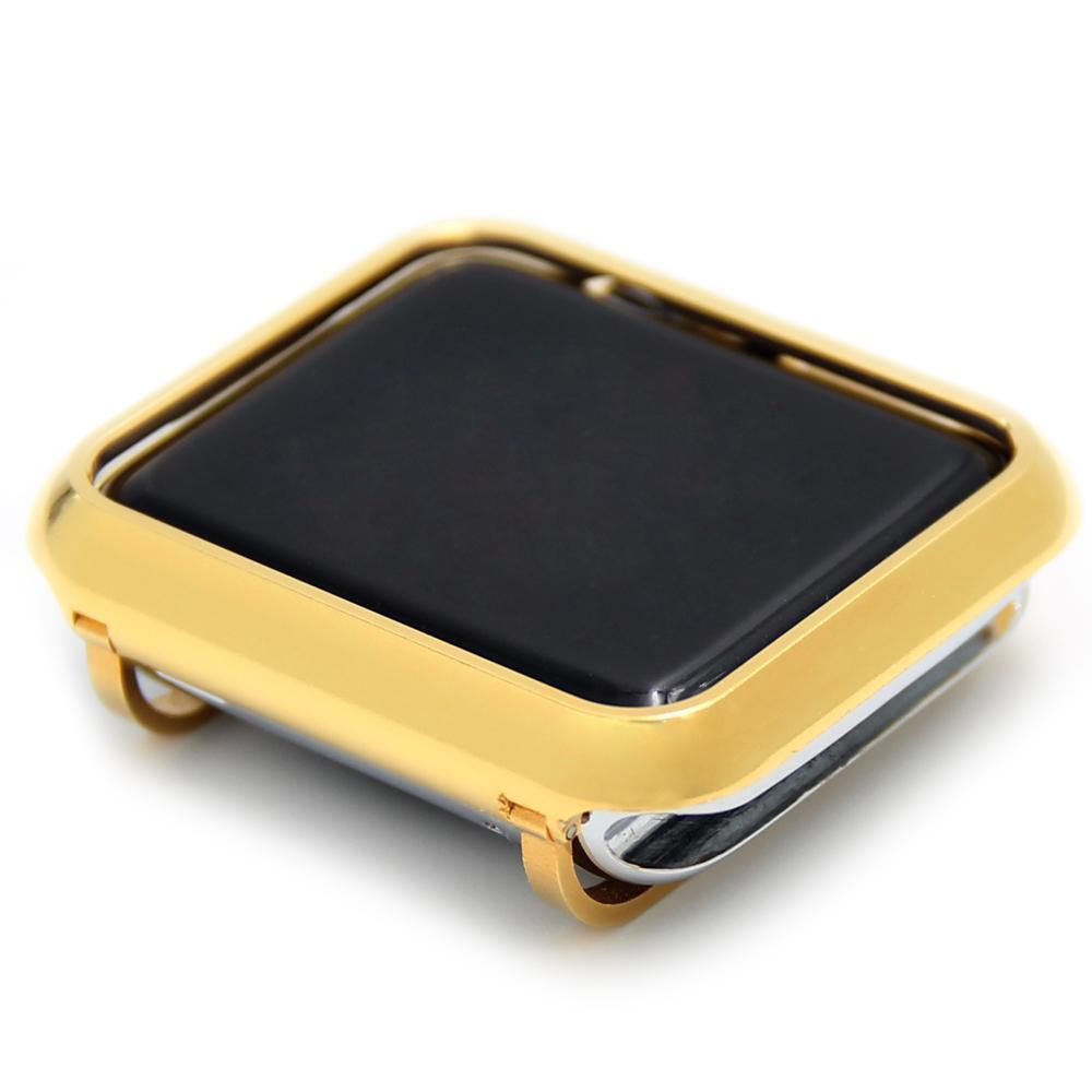 Phone Bumpers Metal case bezel cover for Apple Watch series 4 series 3 series 2 series 1 38mm 42mm 40mm 44mm