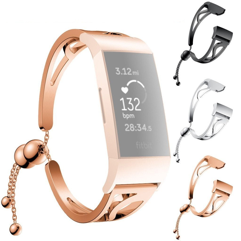 Smart Accessories 2019 Fashion Bracelet Replacement Girls WatchBand Wirstband Strap For Fitbit Charge 3 bip amazit mi band 2 bracelet band|Smart Accessories|