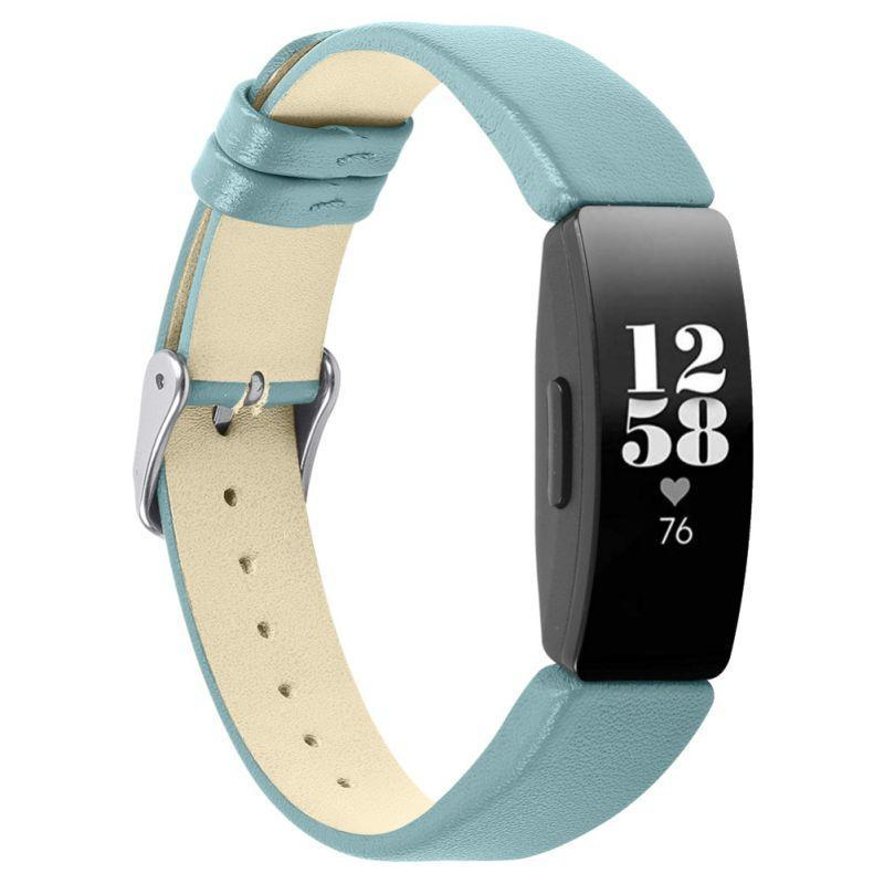 Smart Accessories Leather Watch Bands Compatible With For Fitbits Inspire For Women Men Slim Replacement Wristbands Bracelet Strap Accessories|Smart Accessories|