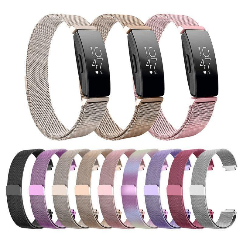 Smart Accessories Replacement Milanese Loop for Fitbit Inspire Magnetic Stainless Steel Strap Bracelet Betl For Fitbit Inspire HR / ace2 Band|Smart Accessories|