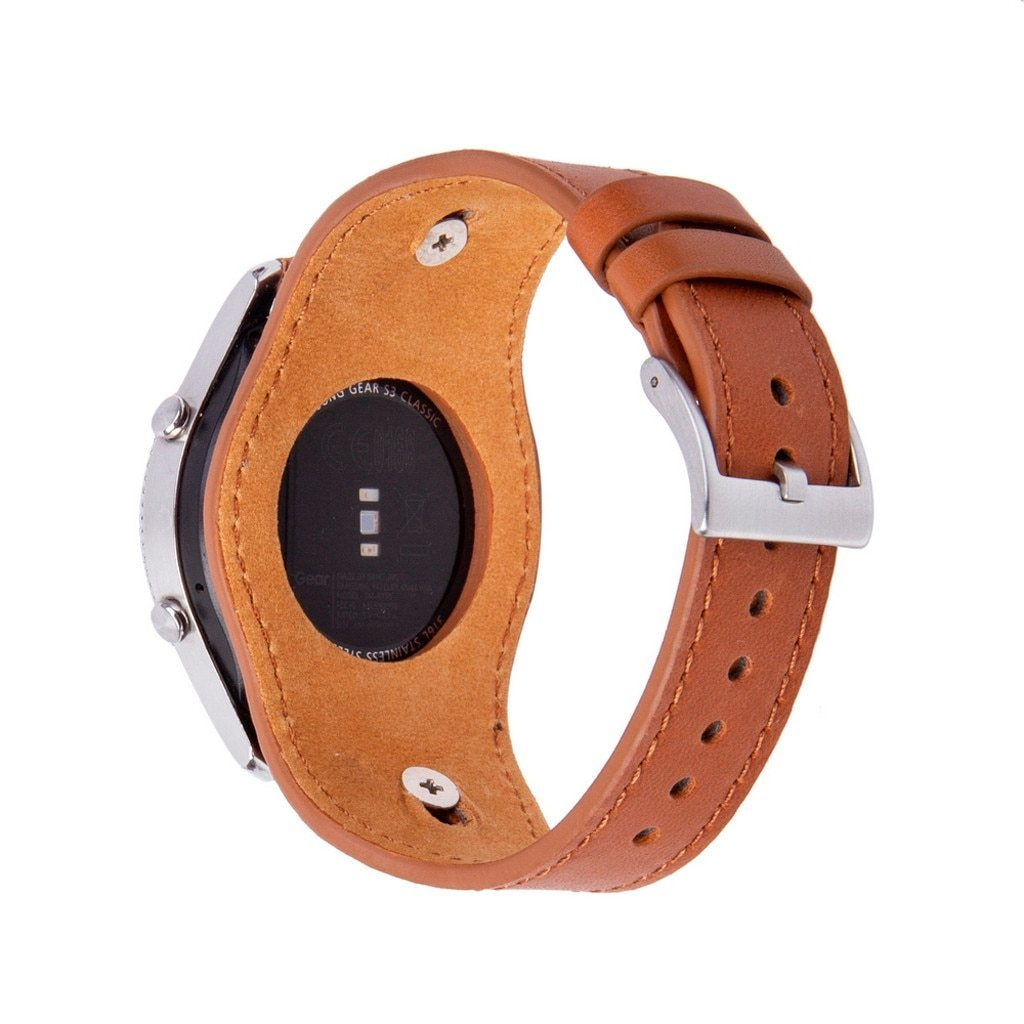 Smart Accessories Smart Accessories For Samsung Classic Galaxy Watch 46mm Leather Band Replacement Straps Bracelet Тактильный Браслет Dropship #16|Smart Accessories| |