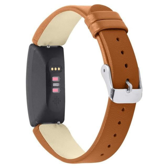 Smart Accessories Z / China Leather Watch Bands Compatible With For Fitbits Inspire For Women Men Slim Replacement Wristbands Bracelet Strap Accessories|Smart Accessories|