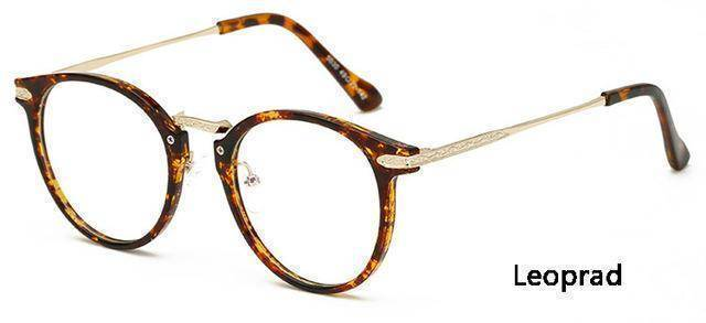 sunglasses Leopard Ultra-light TR90 Glasses Frame Anti-radiation TV Computer Goggles Optical Frames Oculos 5030