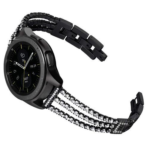 Watchbands black / 20mm galaxy active Huawei watch gt strap for Samsung Galaxy 46mm 42mm gear S3 Frontier active S2 classic amazfit band 20mm/22mm bracelet
