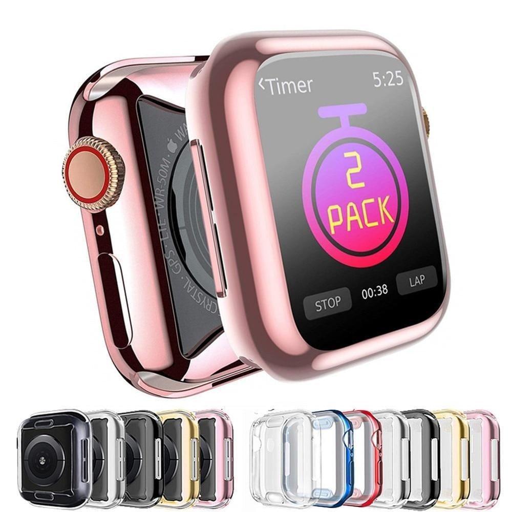 Case cover For Apple Watch band 5 4 3 2 1 case 42mm 38mm Apple iwatch 5 4 3 2 1 44 mm/40mm Screen protector cover | for Apple watch | Apple iwatch case