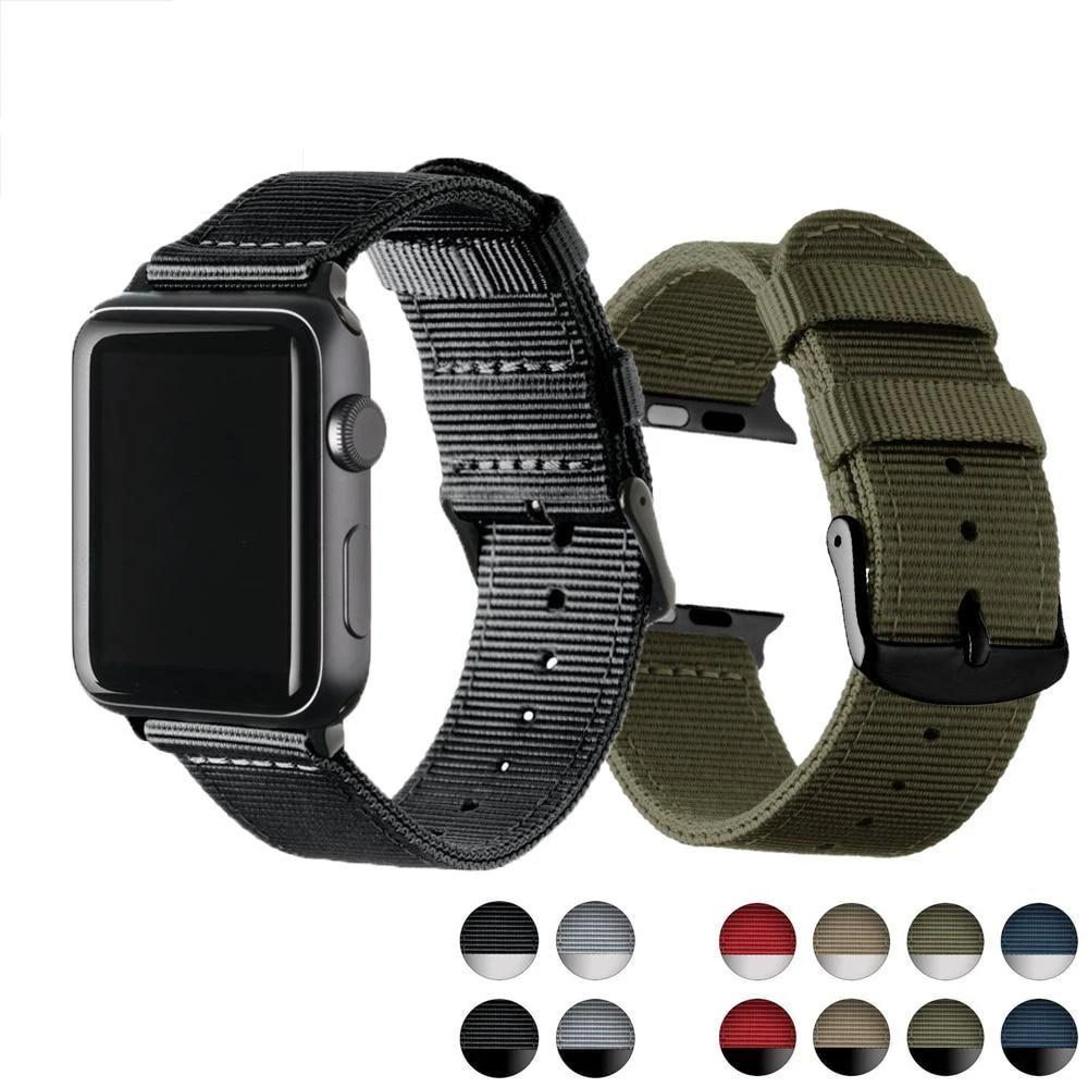 Watchbands Eastar Lightweight Breathable waterproof Nylon strap for apple watch 5 band 42mm 38mm for iWatch serise 4 3 2 1 watchband