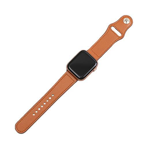 Watchbands Genuine leather loop strap for apple watch band 42mm 44mm apple watch 4 5 38mm 40mm iwatch 3/2/1 correa replacement bracelet