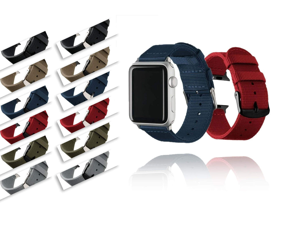 Watchbands Lightweight Breathable waterproof Nylon strap for apple watch 5 band 42mm 38mm for iWatch series 5 4 3 2 1 watchband