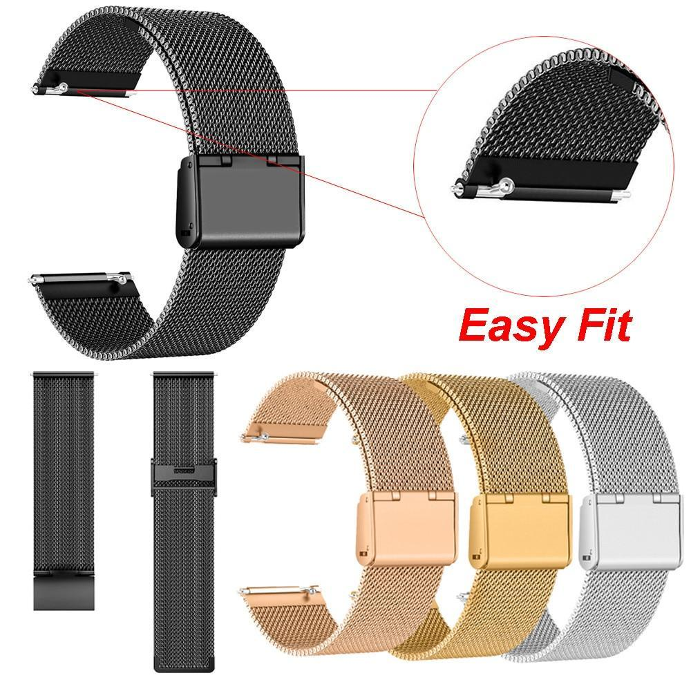 Watchbands Milanese Stainless Steel Strap Replacement Watch Band for Fitbit Versa #new 08913|Watchbands|