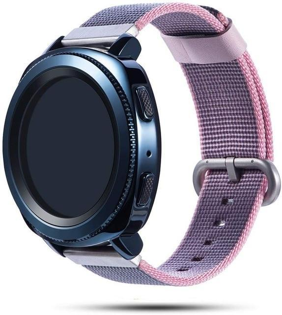 Woven nylon band for Samsung Galaxy Watch 46mm 42mm Active 2 strap Magic Huami Amazfit Bracelet watch Band 22mm 20mm