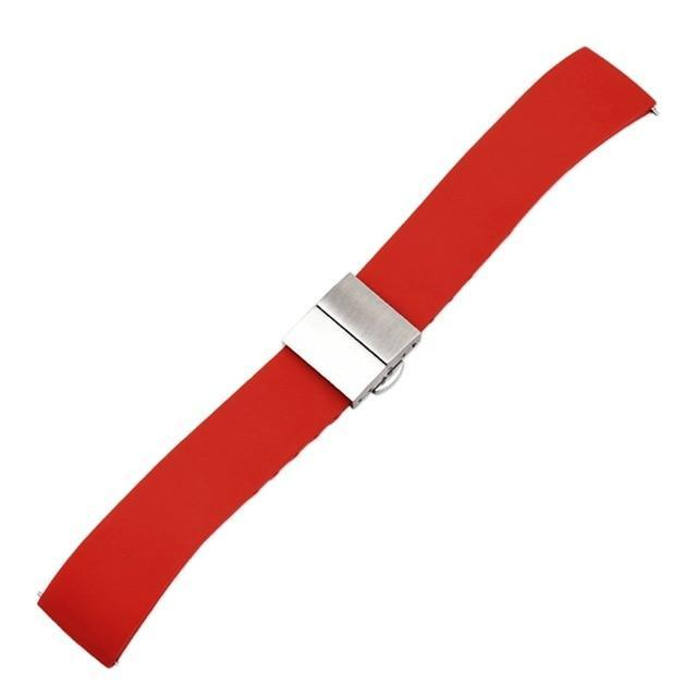 Watchbands RED / 14mm Quick release nylon watch band pin buckled adjustable women men unisex Replacement Accessories fitness equipment pedometer|Watchbands|