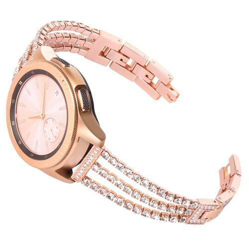 Watchbands rose gold / 20mm galaxy active Huawei watch gt strap for Samsung Galaxy 46mm 42mm gear S3 Frontier active S2 classic amazfit band 20mm/22mm bracelet