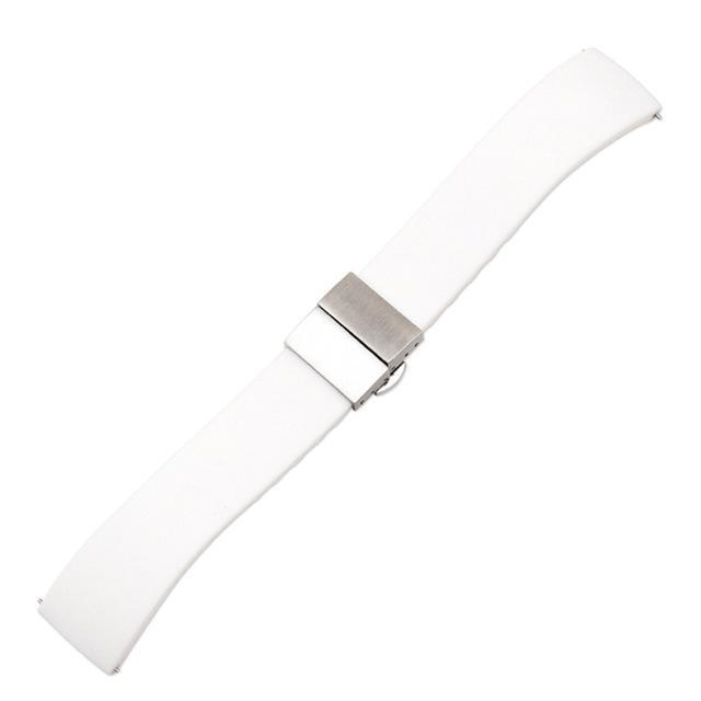 Watchbands White / 14mm Quick release nylon watch band pin buckled adjustable women men unisex Replacement Accessories fitness equipment pedometer|Watchbands|