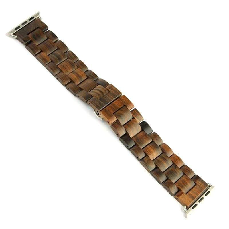 Watches Apple watch band, Green Natural Bamboo Watchbands, Wood Watch strap, iWatch fits 44mm, 40mm,  42mm,  38mm, Series 1 2 3 4
