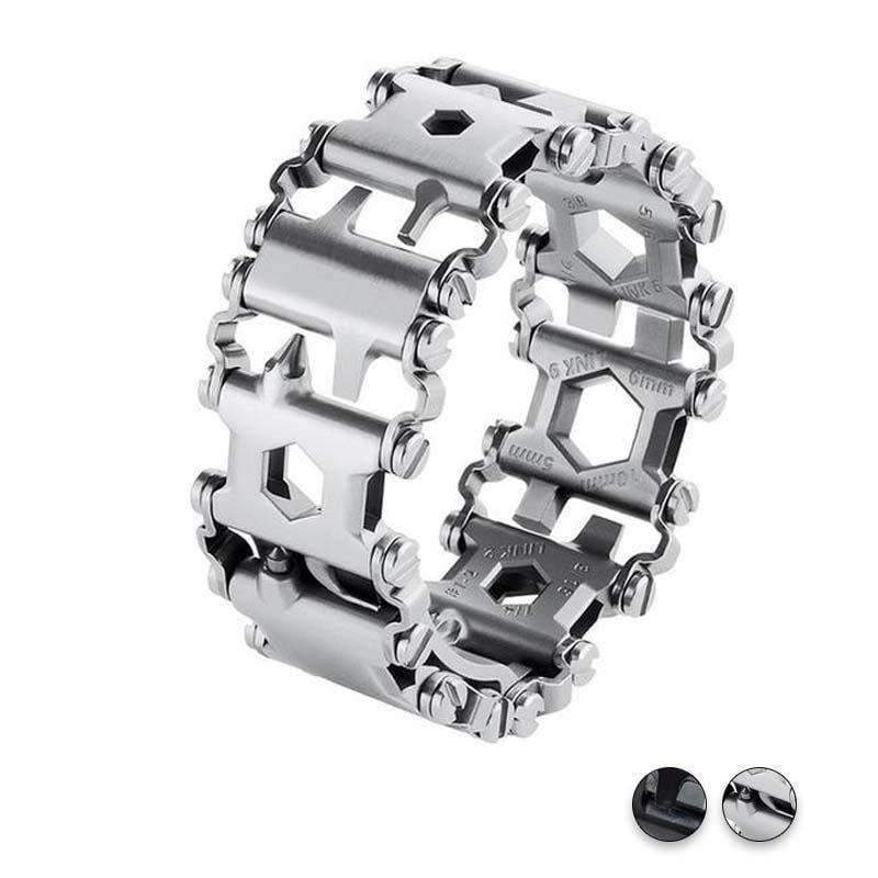 Watches Apple Watch Series 5 4 3 2 Band, Stainless Steel, 22 multi function tools, Unique Apple bracelet, fits 38mm, 40mm, 42mm, 44mm