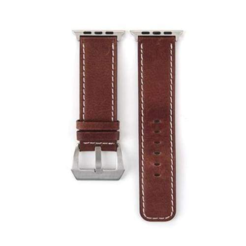 Watches Brown / 38mm/40mm Genuine Leather  Apple watch band,  iwatch Series 1 2 3 4 44mm/ 40mm/ 42mm/ 38mm , USA Fast Shipping
