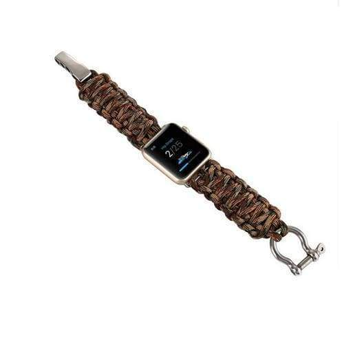Watches Camouflage2 / 38mm/40mm Umbrella rope watch strap band for apple watch Series 1 2 3 4 iwatch 44mm/ 40mm/ 42mm/ 38mm bracelet for old customers, USA Fast Shipping
