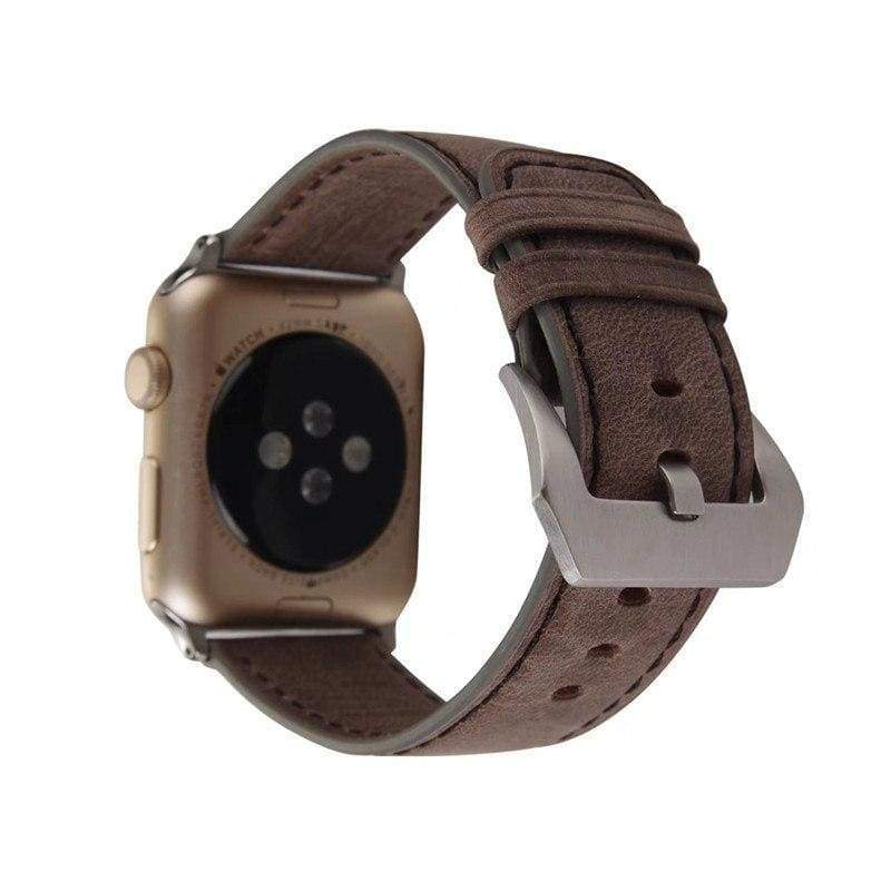 Watches Genuine Leather  Apple watch band,  iwatch Series 1 2 3 4 44mm/ 40mm/ 42mm/ 38mm , USA Fast Shipping