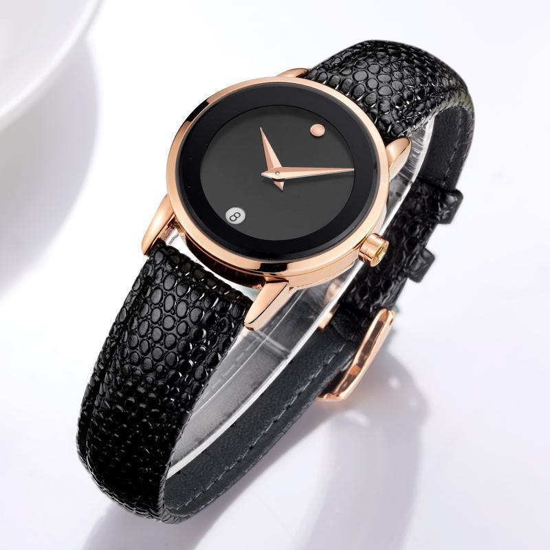 Watches Minimalist Women simple luxury watch - Rose Gold, Silver