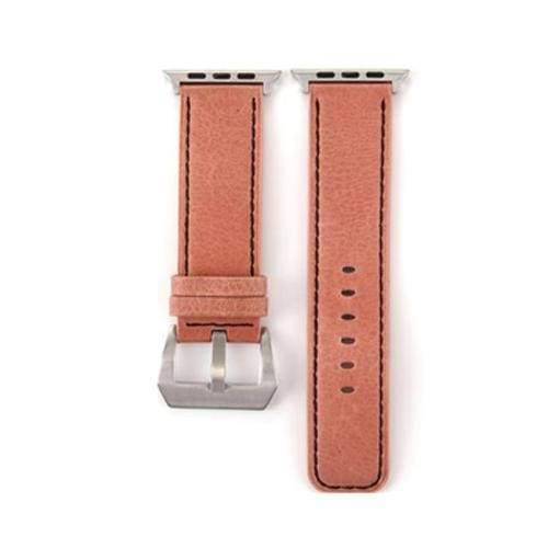 Watches Rose / 38mm/40mm Genuine Leather  Apple watch band,  iwatch Series 1 2 3 4 44mm/ 40mm/ 42mm/ 38mm , USA Fast Shipping