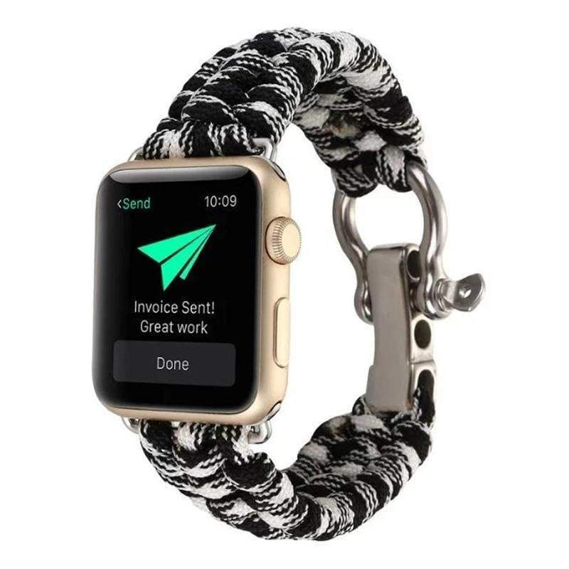 Watches Umbrella rope watch strap band for apple watch Series 1 2 3 4 iwatch 44mm/ 40mm/ 42mm/ 38mm bracelet for old customers, USA Fast Shipping