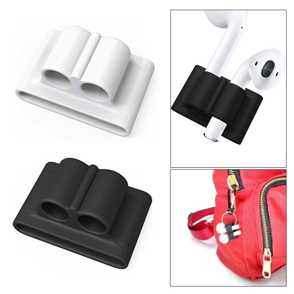 5 In 1 10 Colors Case For Earpods Bluetooth Wireless Earphone Set For Airpods Headphones + Neck Strap Watch Holder Earhook Cover