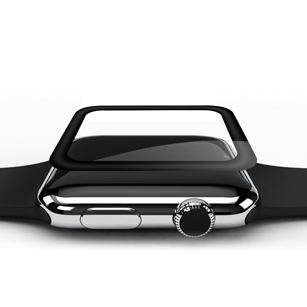 3D Curved Full Cover Tempered Glass For Apple Watch Series 1 2 3 4 44Mm/ 40Mm/ 42Mm/ 38Mm Screen Protector Surface Protective Film