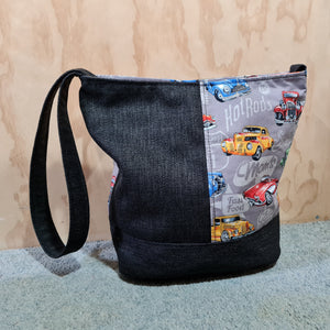 Bucket Shoulder Bags - One off design