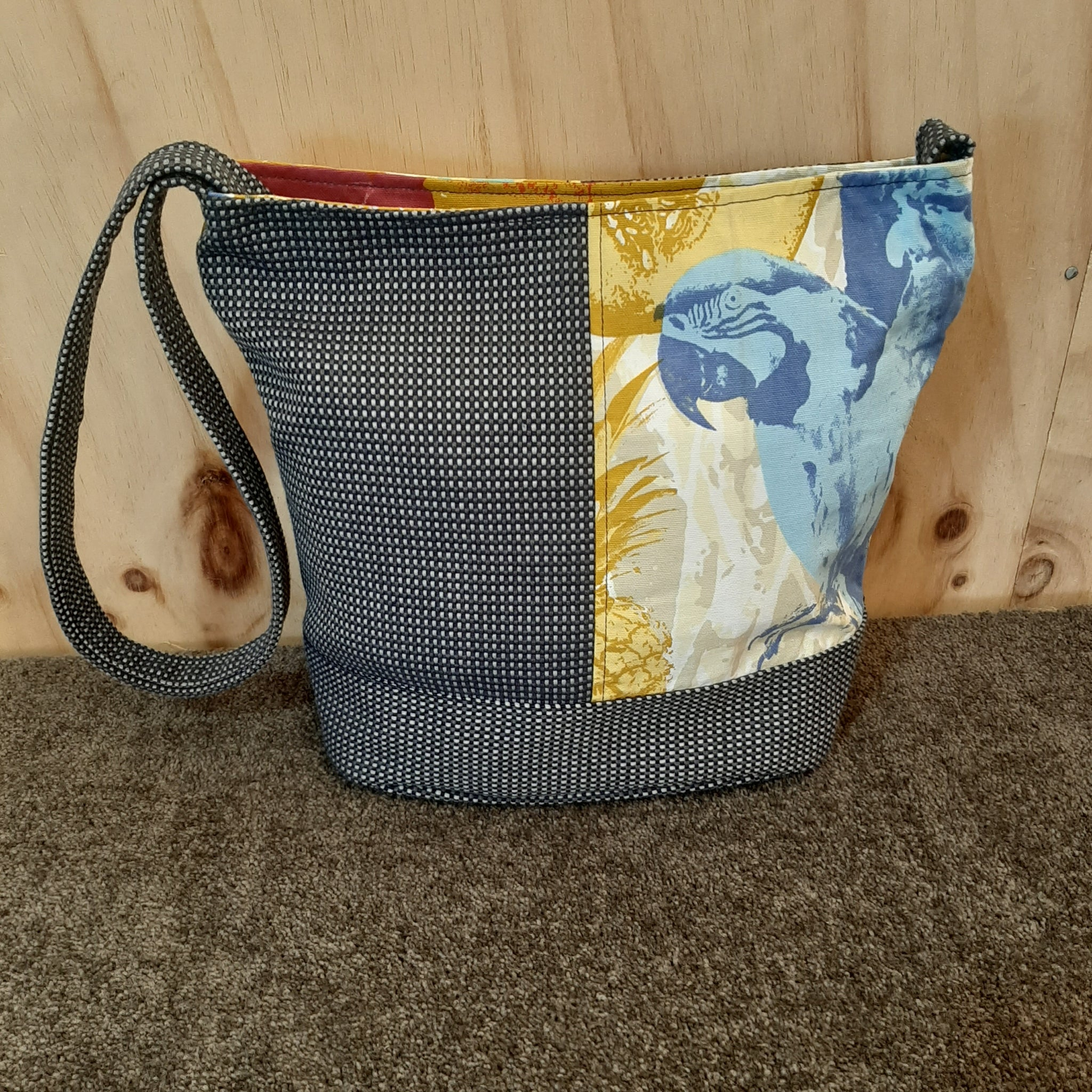 Shoulder Bag / Bucket  - One off Design #27