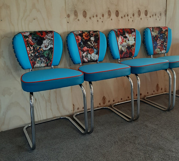 Flower bomb Chrome Chairs