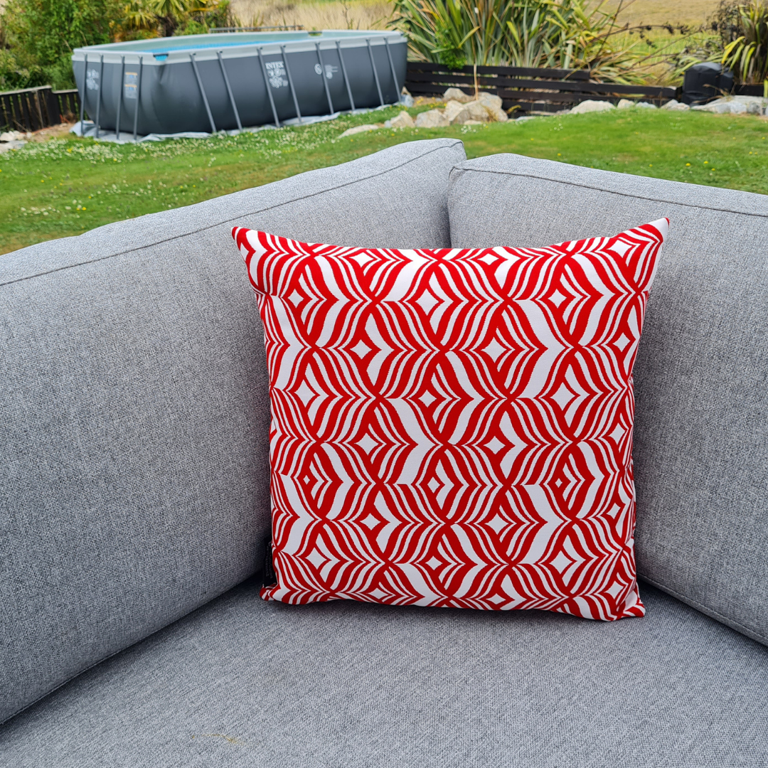 Avoca Lobster - Outdoor cushion cover