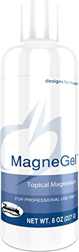 Designs for Health - MagneGel - Magnesium Chloride Transdermal Gel, 8oz.