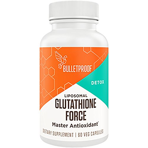 Bulletproof Glutathione Force, Power Up on a Cellular Level (60 Capsules)
