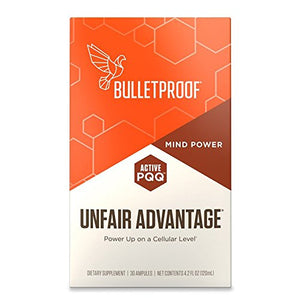 Bulletproof Unfair Advantage, Power Up on a Cellular Level (30 Ampules)