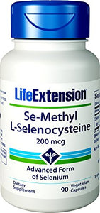 Life Extension Se-Methyl L-Selenocysteine 200 mcg, 90 Vegetarian Capsules