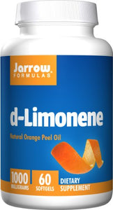 Jarrow Formulas D-Limonene, Protects the Esophagus, 1000 mg, 60 Softgels