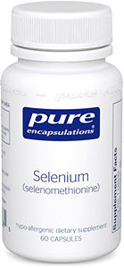 Pure Encapsulations - Selenium (Selenomethionine) - Hypoallergenic Antioxidant Supplement for Immune System Support* - 60 Capsules