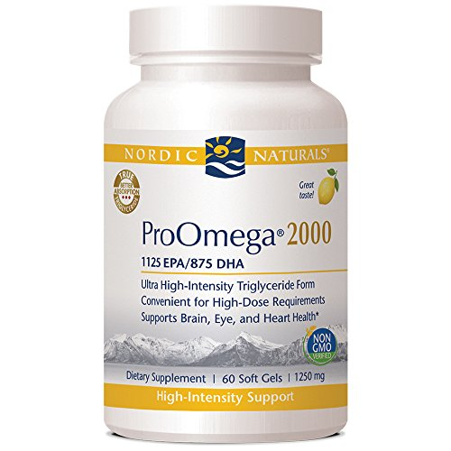 Nordic Naturals ProOmega 2000 Lemon 60 Soft Gels