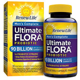 Renew Life - Ultimate Flora Probiotic Men's Complete - 90 billion - 30 vegetable capsules