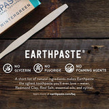 Redmond Earthpaste - Natural Non-Flouride Toothpaste, LemonTwist, 4 Ounce Tube (1 Pack)