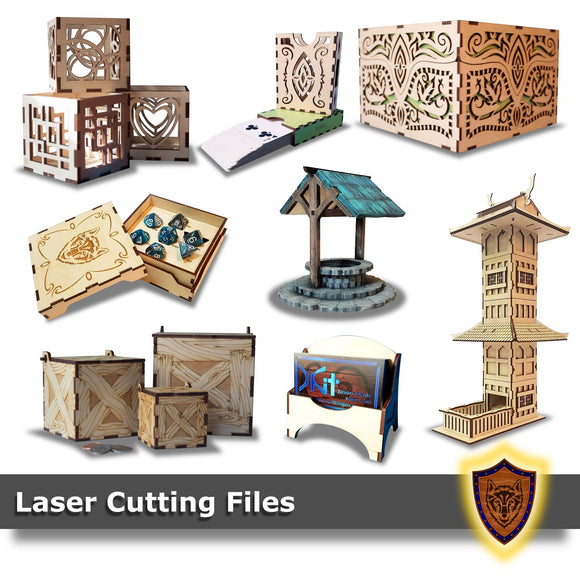 Laser Projects - Digital Downloads