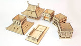 pagoda dice tower pieces