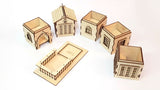 french provincial dice tower design laser files