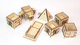 Tudor dice tower components