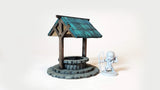 FREE Laser Cut -Wishing Well - Scatter Terrain (Digital Download)
